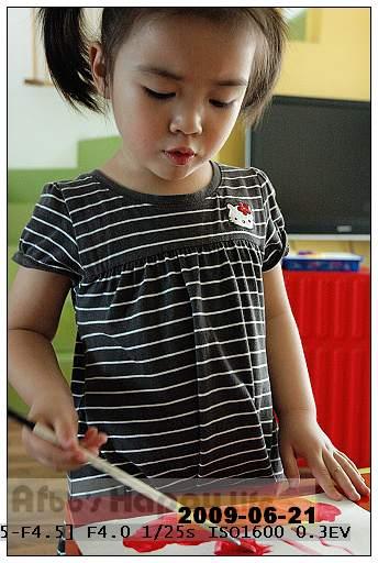 幼儿t恤画画比赛