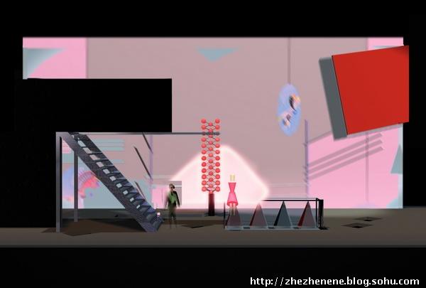 [转载]易卜生《建筑师》舞台美术设计方案效果图