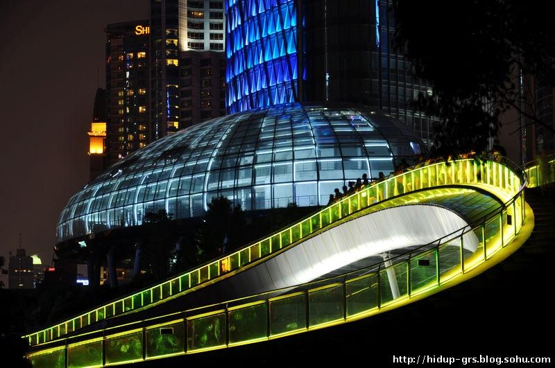 彩虹桥 上海北外滩夜景