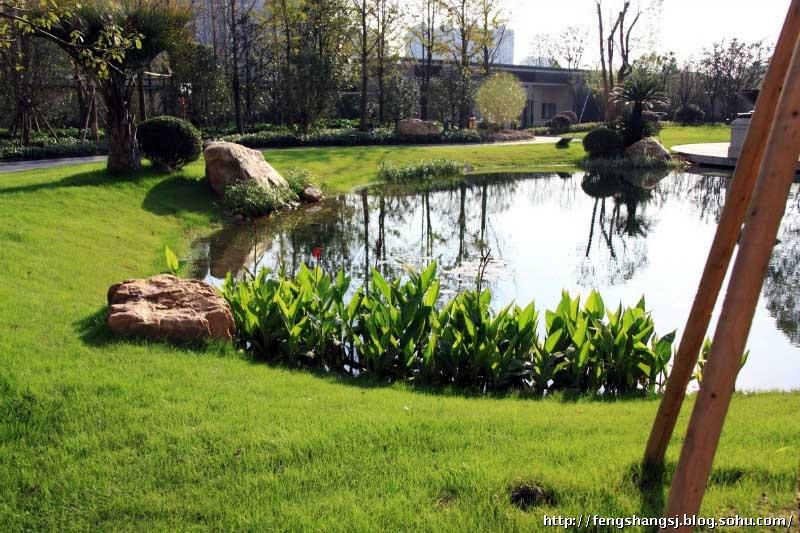 法式现代风格社区园林景观