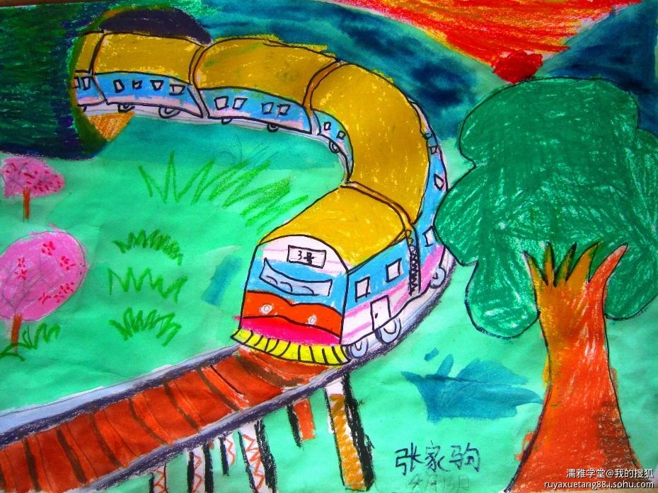 儿童简笔画 图片大全_巧巧简笔画 节日 儿童画 儿童风景画 海底世界