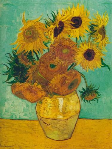 梵高向日葵作品简介,梵高星空图的正确看法