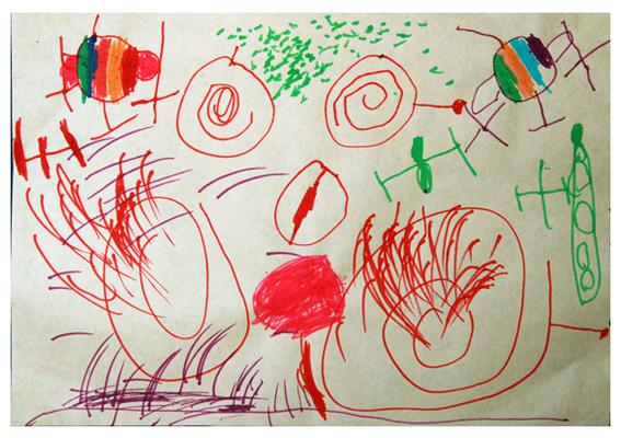 幼儿涂鸦16课——想象画