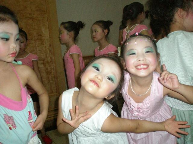 儿童舞台妆画法视频