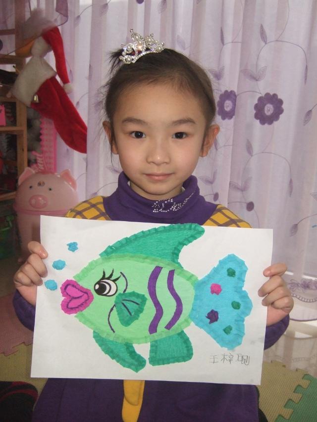 小孩画画图片大全可爱