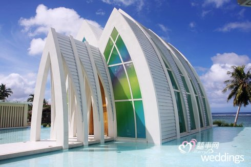 巴厘岛玻璃礼堂