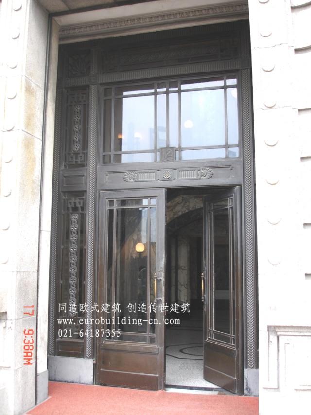 上海外滩欧式建筑设计细部