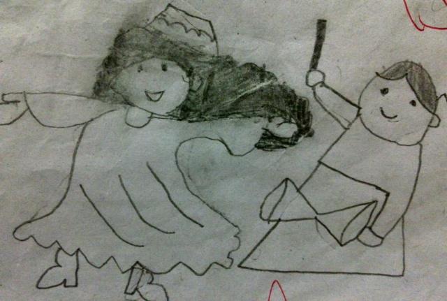 小学四年级简笔画 小学一年级绘画