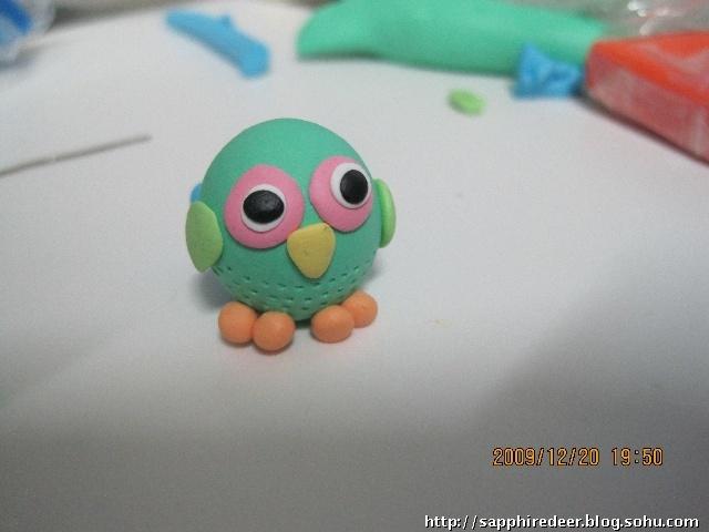 软陶,小鸟(谢谢猫妈)-九色鹿-搜狐博客