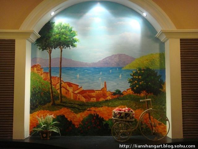 长沙城-缤果手绘墙-城市色彩师-搜狐博客