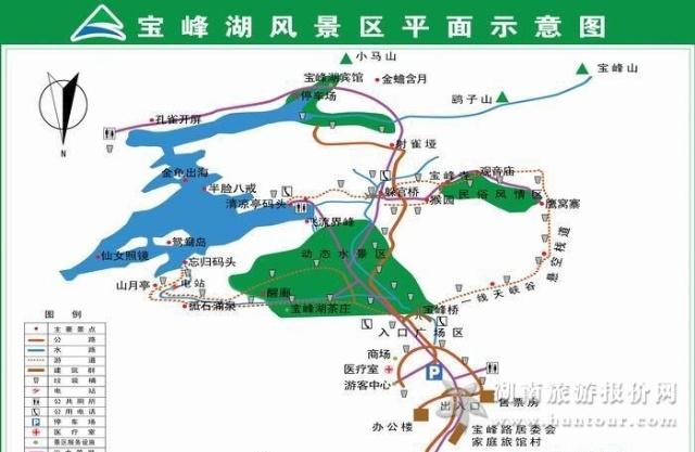 旅游地图 国家森林公园地图