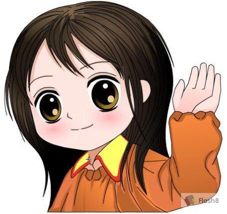 图片动漫人物可爱女孩