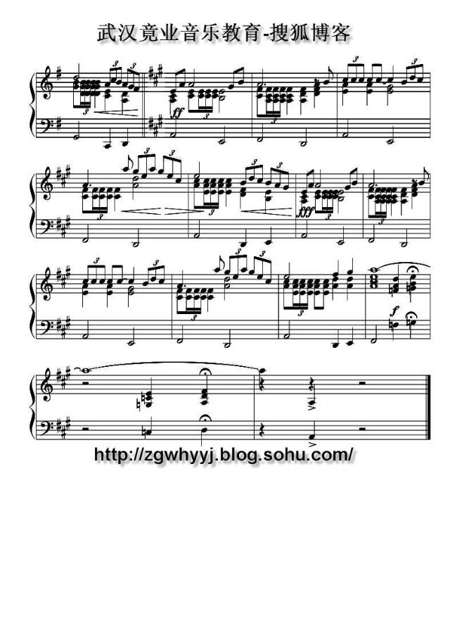 TimeToSayGoodBye 分手时刻 钢琴伴奏谱