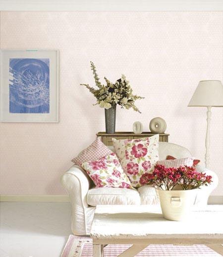 典雅大方的沙发背景墙装修效果图高清图片