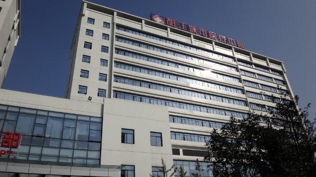 垮的江堰市人民医院图片