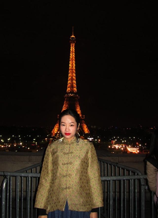 法国埃菲尔铁塔微信头像
