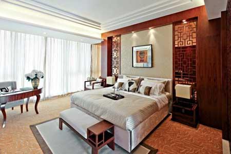 最美的新中式风格的卧室空间装修设计效果欣赏