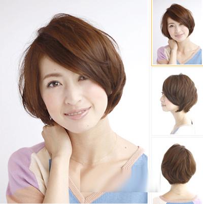 主持人伊一时尚气质短发发型