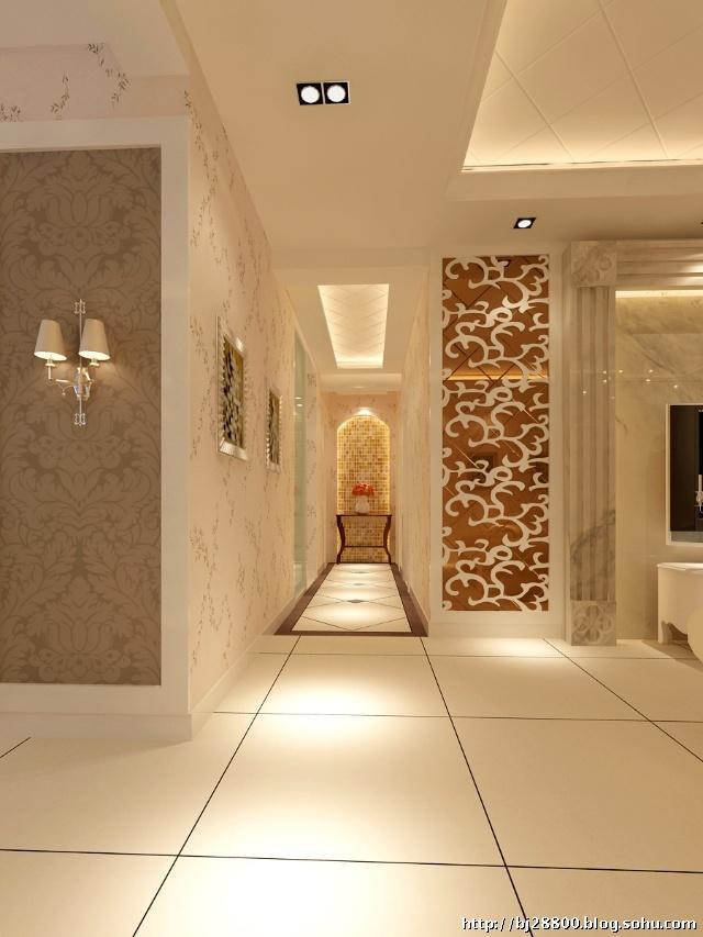 欧式风格装修效果图--门厅设计