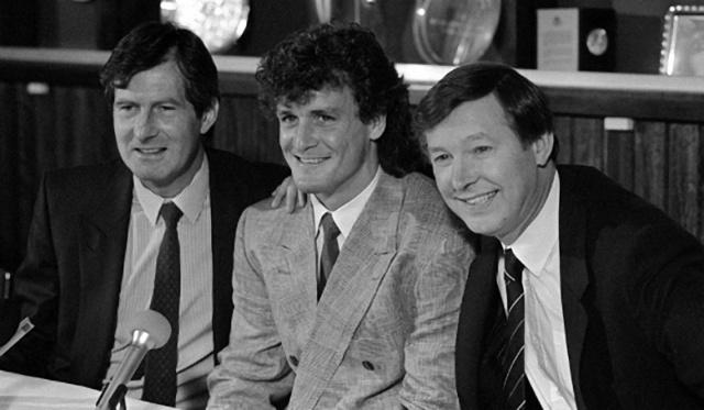 1987年弗格森与马丁.爱德华兹