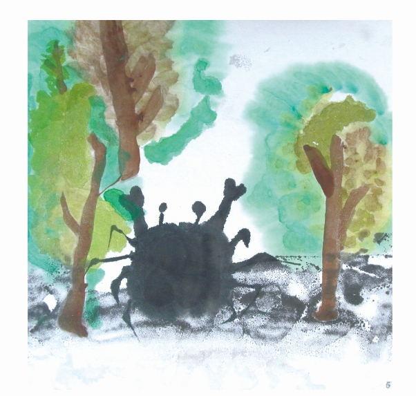 【彩翼儿童原创绘本故事】——小螃蟹的蝴蝶结